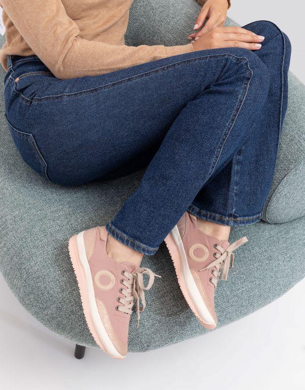 נעלי נשים - Aro - סניקרס JAQ B VEGAN - ורוד