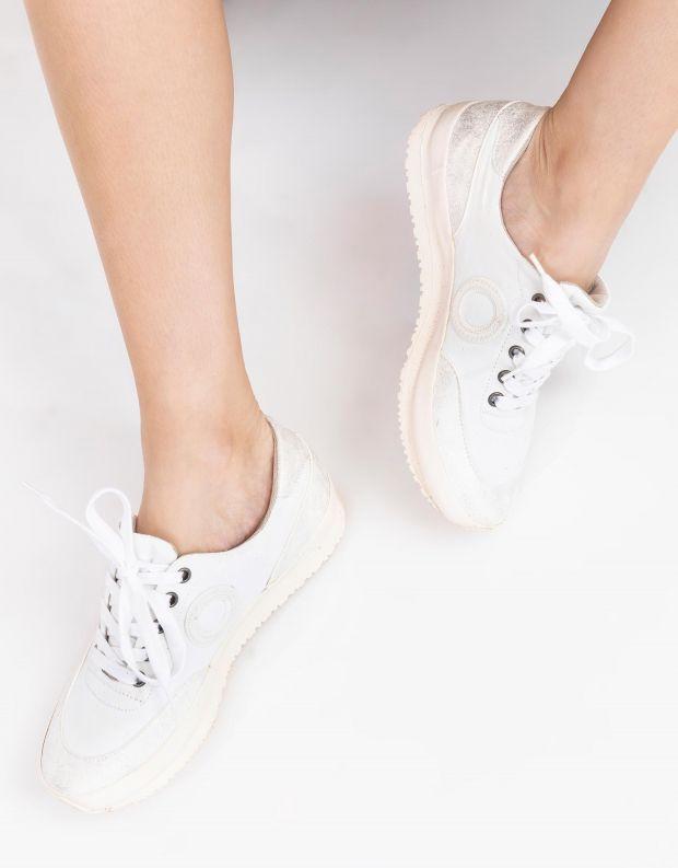 נעלי נשים - Aro - סניקרס JAQ B VEGAN - לבן
