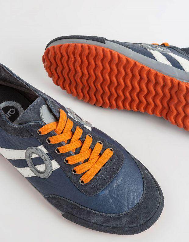 נעלי גברים - Aro - סניקרס IDO - כחול   לבן