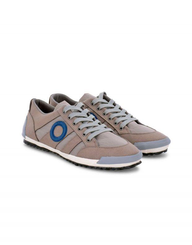 נעלי גברים - Aro - סניקרס IDO B VEGAN - אפור בהיר