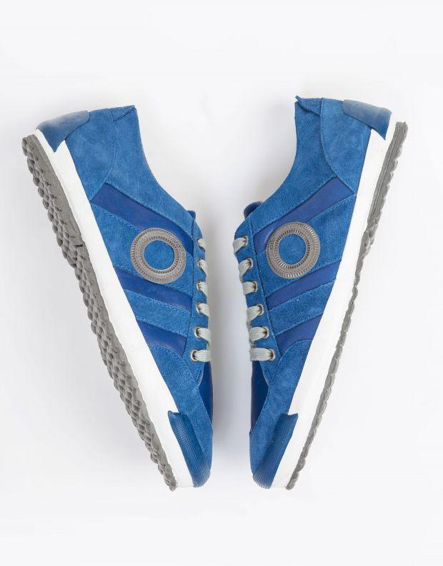 נעלי גברים - Aro - סניקרס IDO B - כחול   לבן