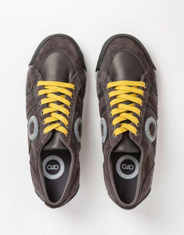 נעלי גברים - Aro - סניקרס IDO B - אפור   כתום