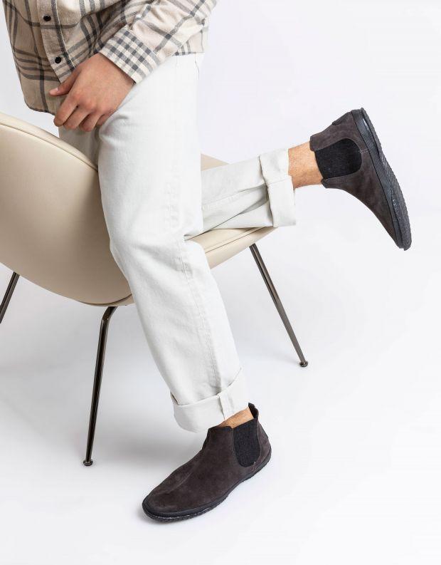 נעלי גברים - Aro - מגפוני צ'לסי WILLY - אפור