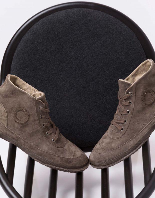 נעלי גברים - Aro - סניקרס WILLY - חום