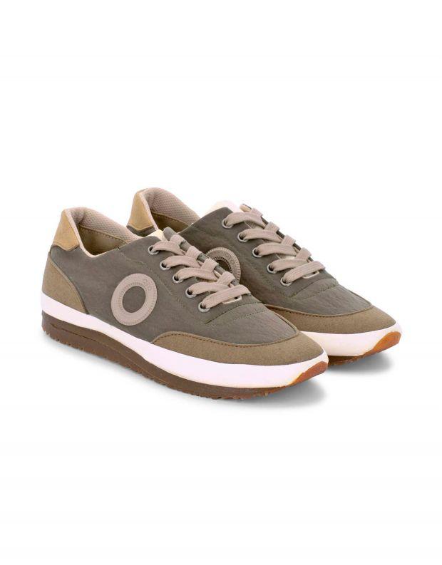 נעלי גברים - Aro - סניקרס JAQ B VEGAN - חום