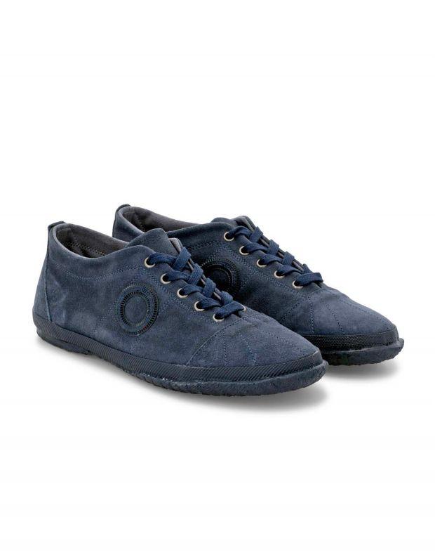 נעלי גברים - Aro - סניקרס זמש WILLY - כחול