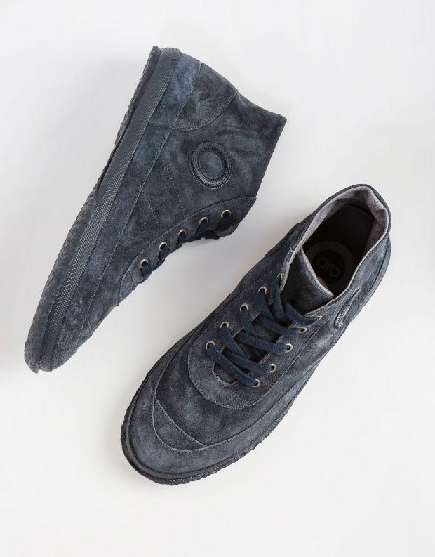 נעלי גברים - Aro - סניקרס WILLY - אפור כהה