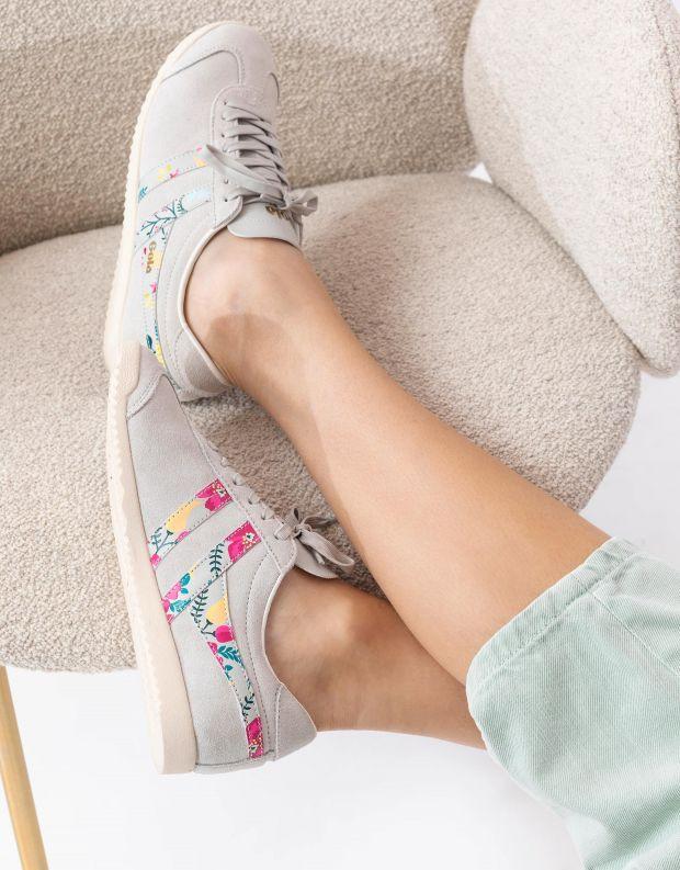 נעלי נשים - Gola - סניקרס BULLET FLORAL - אופוויט
