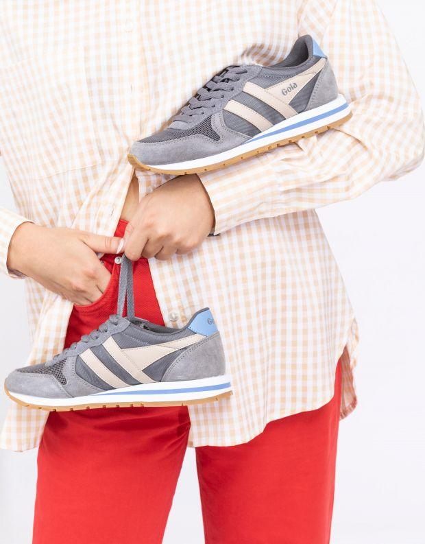 נעלי נשים - Gola - סניקרס DAYTONA - אפור   ורוד