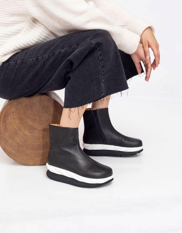 נעלי נשים - 4CCCCEES - מגפונים MELLOW - שחור
