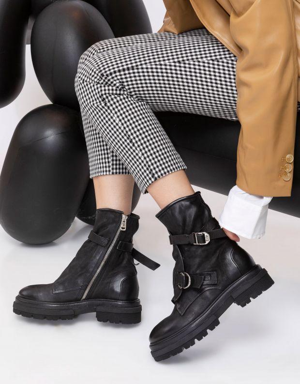 נעלי נשים - A.S. 98 - מגפוני מעטפת HEAVEN - שחור