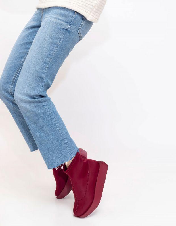 נעלי נשים - United Nude - מגפוני לייקרה WA - אדום