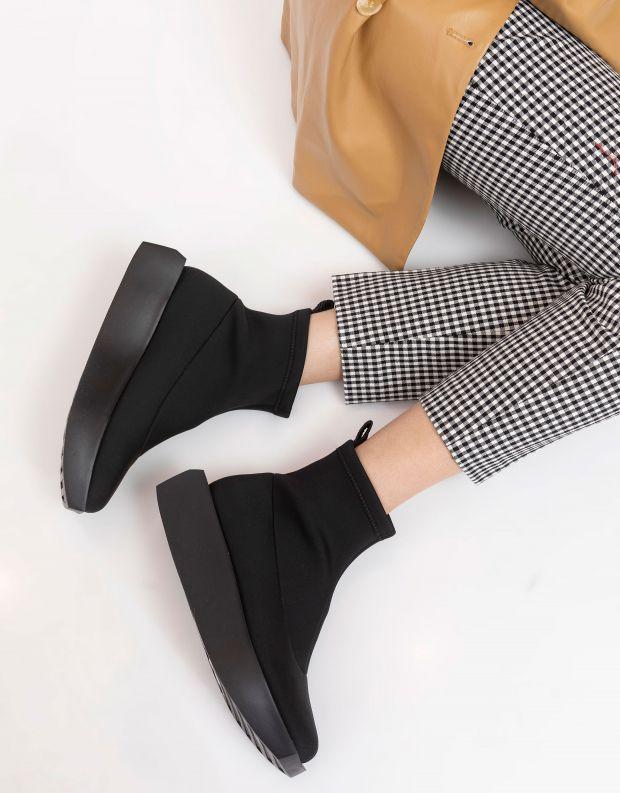 נעלי נשים - United Nude - מגפוני לייקרה WA - שחור