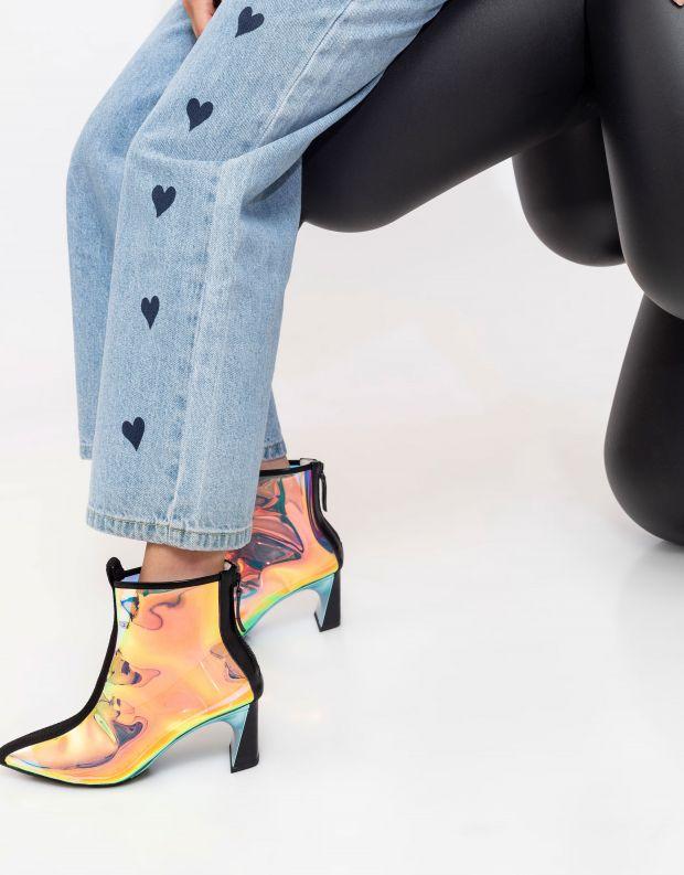 נעלי נשים - United Nude - מגפוני עקב LUCID MOLTEN M - צבעוני