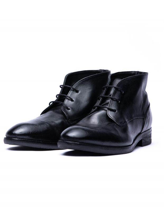 נעלי גברים - Hudson - נעלי עור IOMMI - שחור