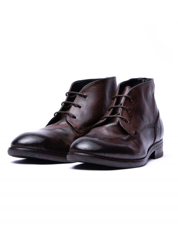 נעלי גברים - Hudson - נעלי עור IOMMI - חום