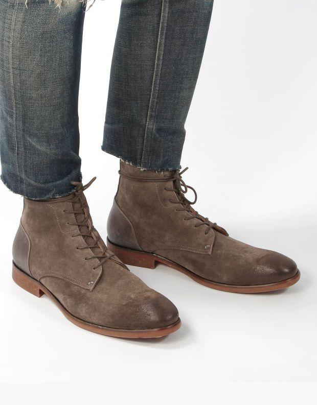 נעלי גברים - Hudson - נעלי זמש YOAKLEY - אבן