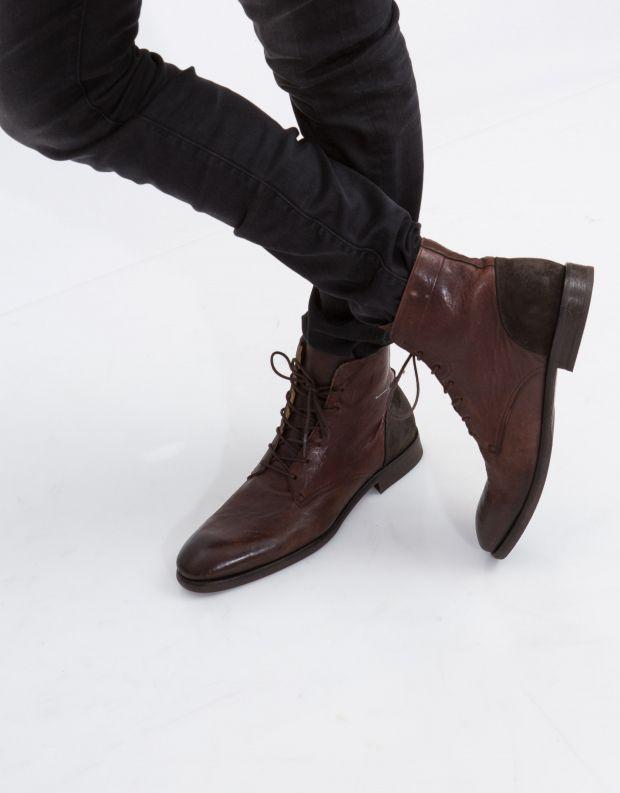 נעלי גברים - Hudson - נעלי עור YOAKLEY - חום