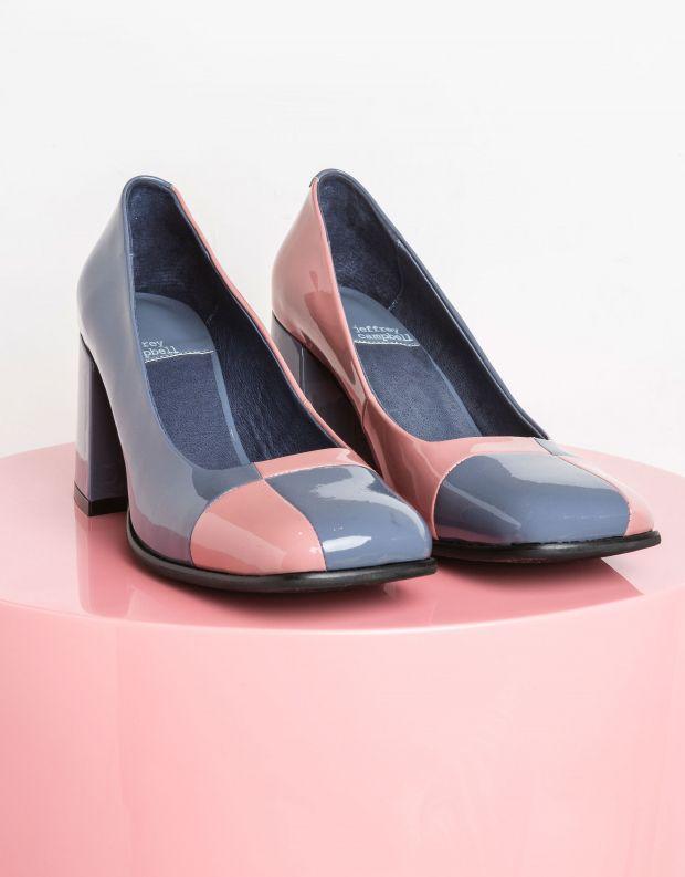 נעלי נשים - Jeffrey Campbell - נעלי עקב MOD MOD - כחול   ורוד