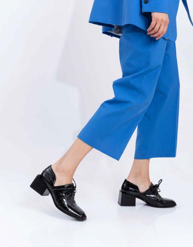 נעלי נשים - Jeffrey Campbell - נעלי שרוכים HOMER - שחור