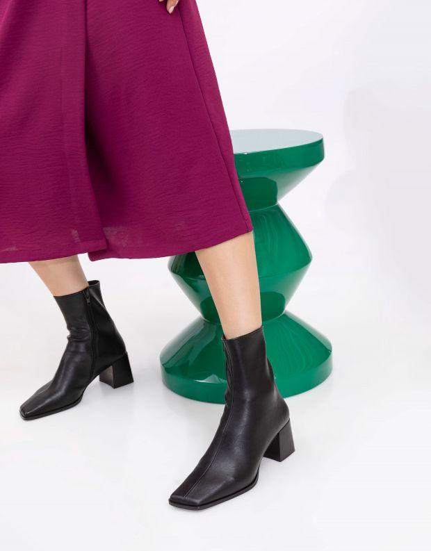 נעלי נשים - Jeffrey Campbell - מגפונים SLIQUE - שחור