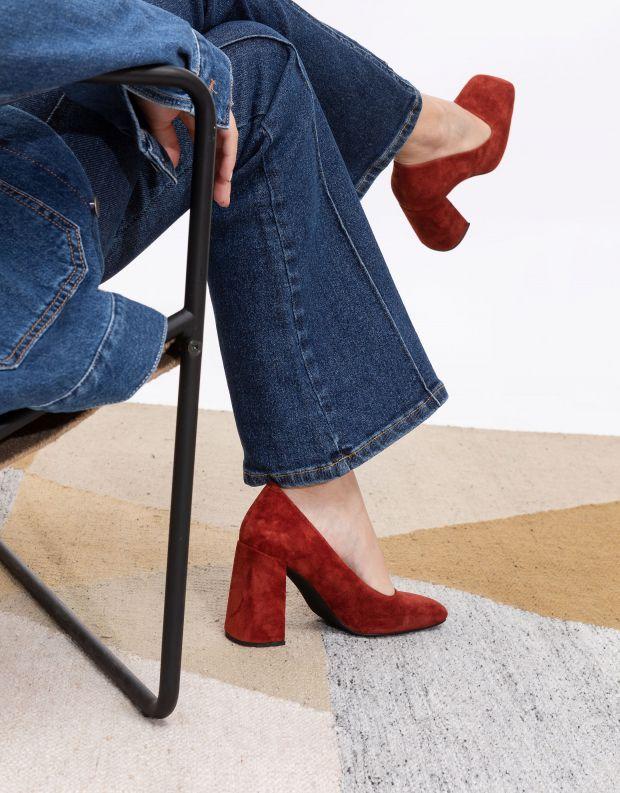 נעלי נשים - Jeffrey Campbell - נעלי עקב VERUSCHKA - חמרה