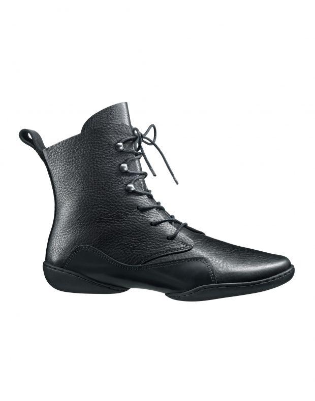 נעלי נשים - Trippen - מגפונים CONCAVE CUP - שחור