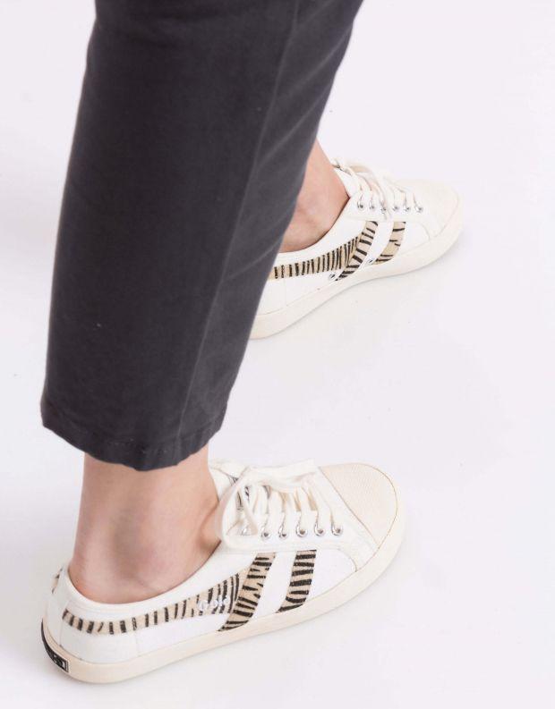 נעלי נשים - Gola - סניקרס COASTER SAFARI - זברה
