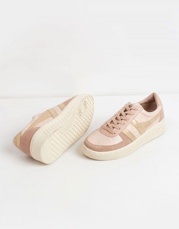 נעלי נשים - Gola - סניקרס GRANDSLAM LIZARD - ורוד