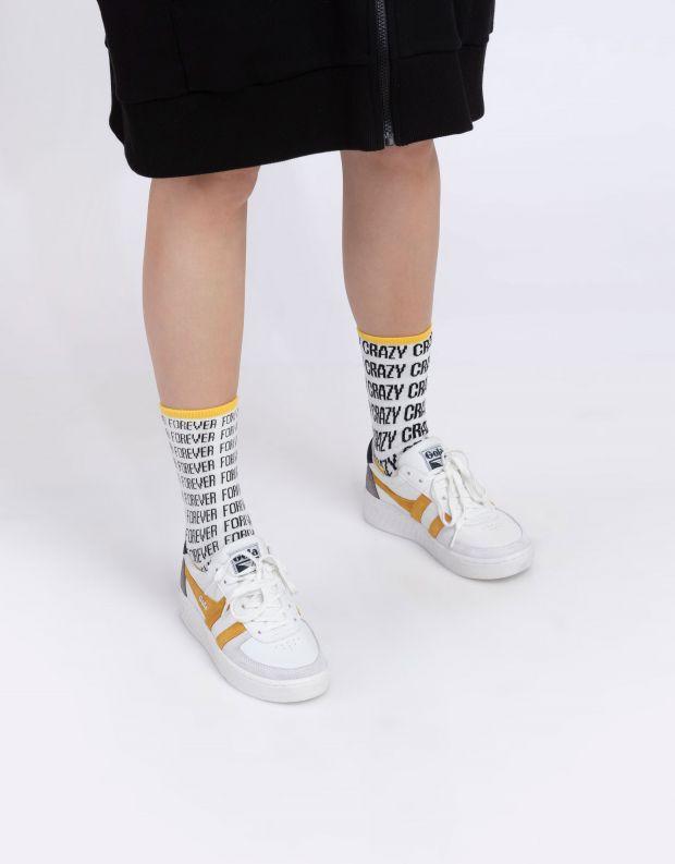 נעלי נשים - Gola - סניקרס GRANDSLAM TRIDENT - לבן   צהוב