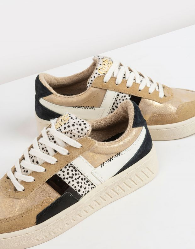 נעלי נשים - Gola - סניקרס GRANDSLAM MODE - זהב