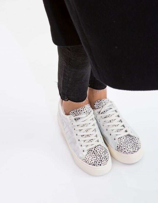 נעלי נשים - Gola - סניקרס ORCHID CHEETAH - לבן מטאלי