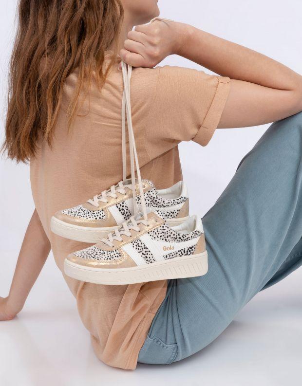 נעלי נשים - Gola - סניקרס GRANDSLAM MAMBA - זהב