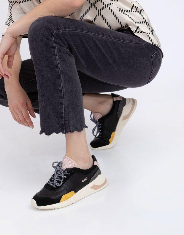 נעלי נשים - Gola - סניקרס ECLIPSE TRIDENT SN - שחור