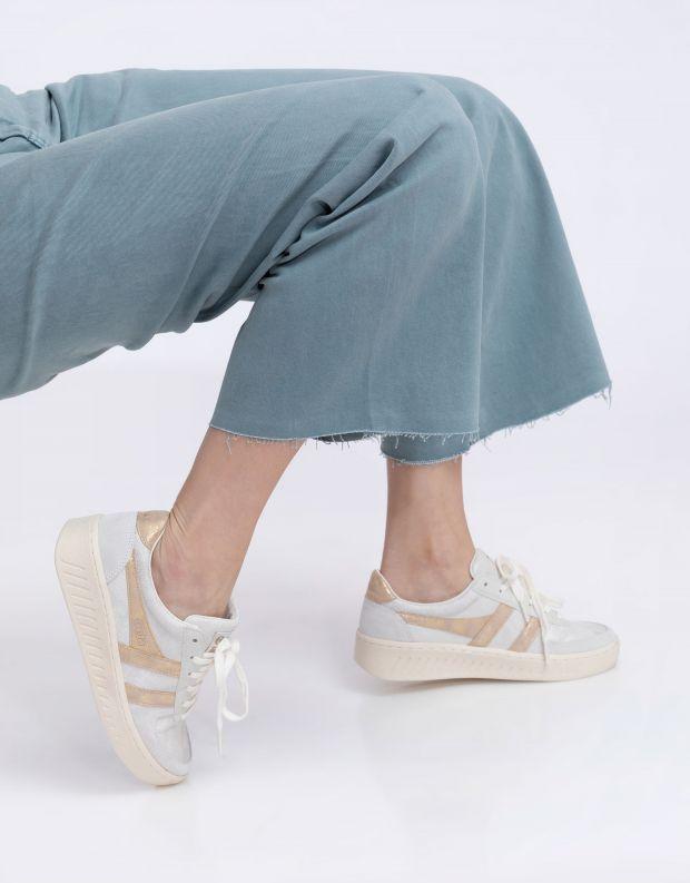 נעלי נשים - Gola - סניקרס GRANDSLAM LIZARD - לבן