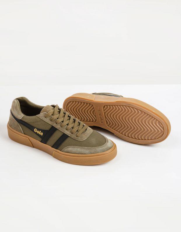 נעלי גברים - Gola - סניקרס MATCH POINT - חאקי   שחור