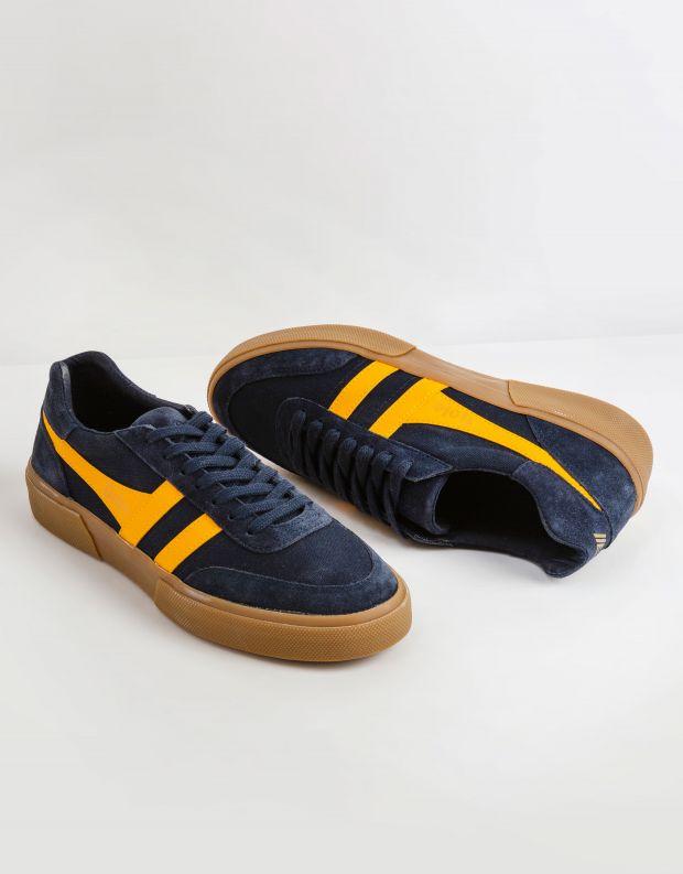 נעלי גברים - Gola - סניקרס MATCH POINT - כחול   צהוב