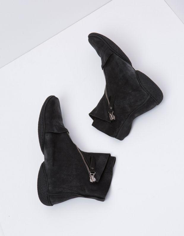 נעלי גברים - Trippen - מגפי עור BERLIN CUP - שחור