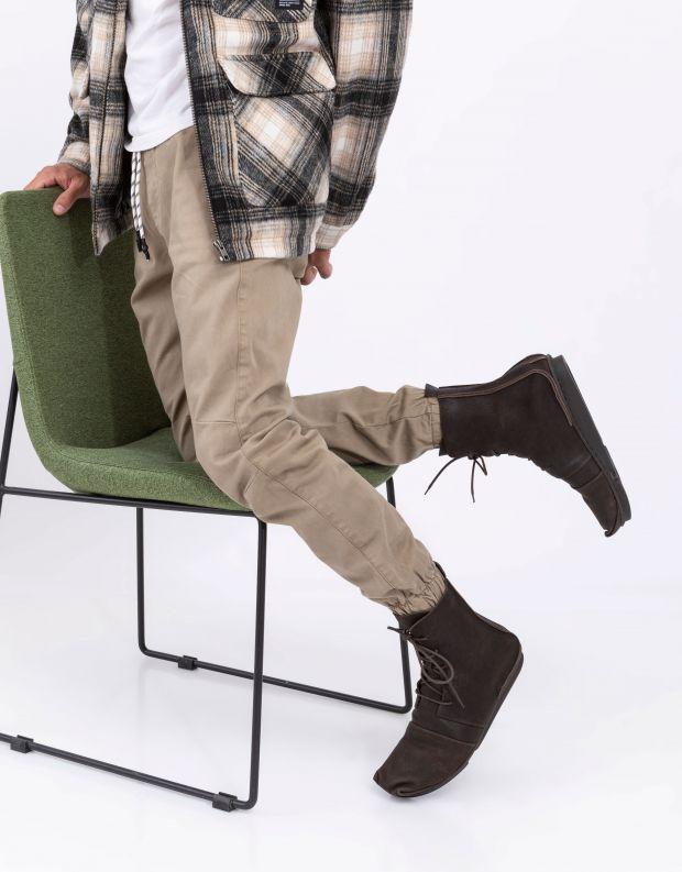 נעלי גברים - Trippen - מגפיים CAROM PENNA - חום כהה