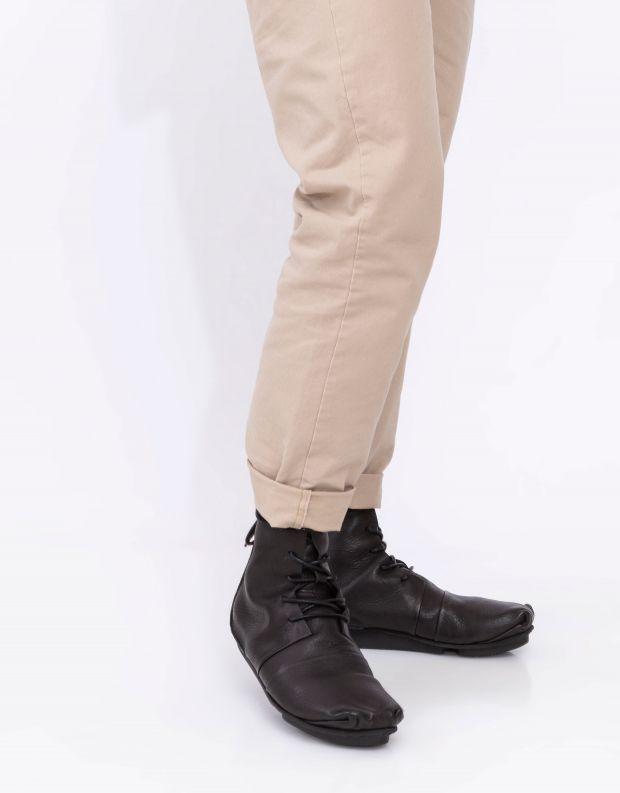נעלי גברים - Trippen - מגפיים CAROM PENNA - שחור