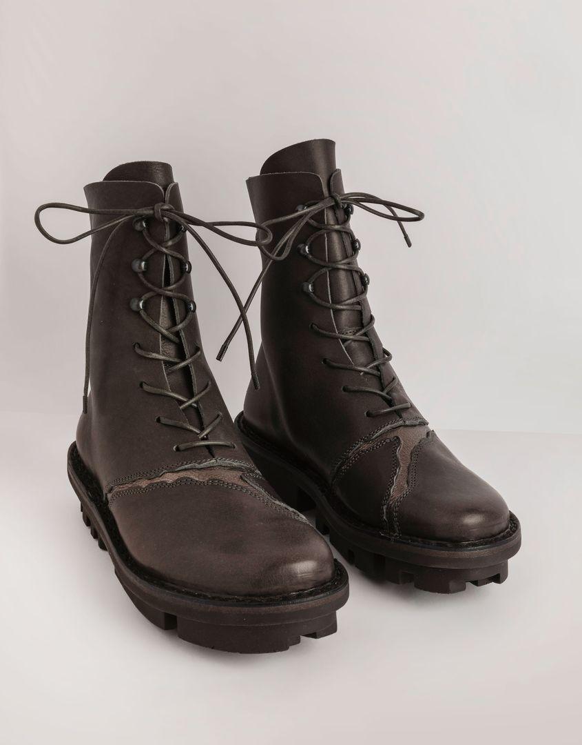 נעלי נשים - Trippen - מגפונים KINTSUGI CLOSED - אפור  כסף
