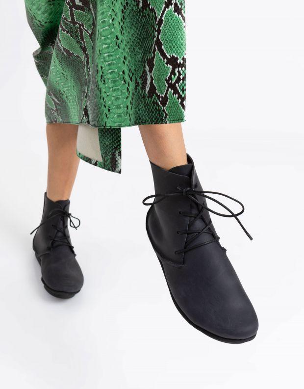 נעלי נשים - Trippen - מגפונים DESTINY PENNA - שחור