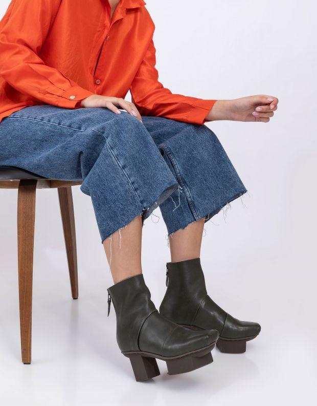 נעלי נשים - Trippen - מגפונים CHALLANGE HAPPY - ירוק