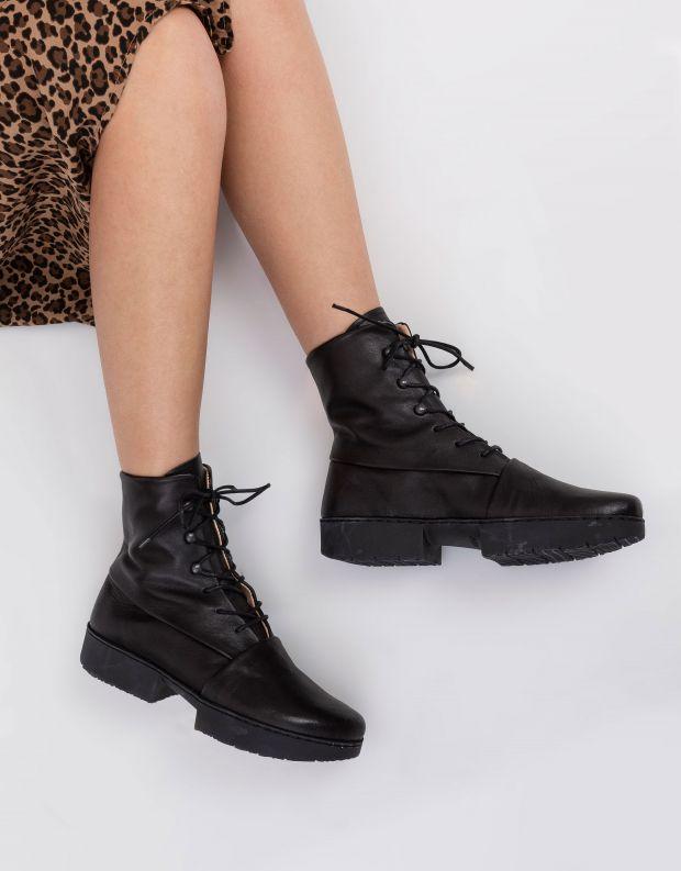 נעלי נשים - Trippen - מגפונים UMPIRE SPORT - שחור