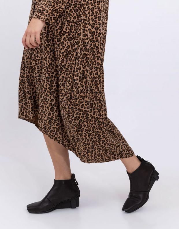 נעלי נשים - Trippen - מגפונים COURAGE XOS - שחור