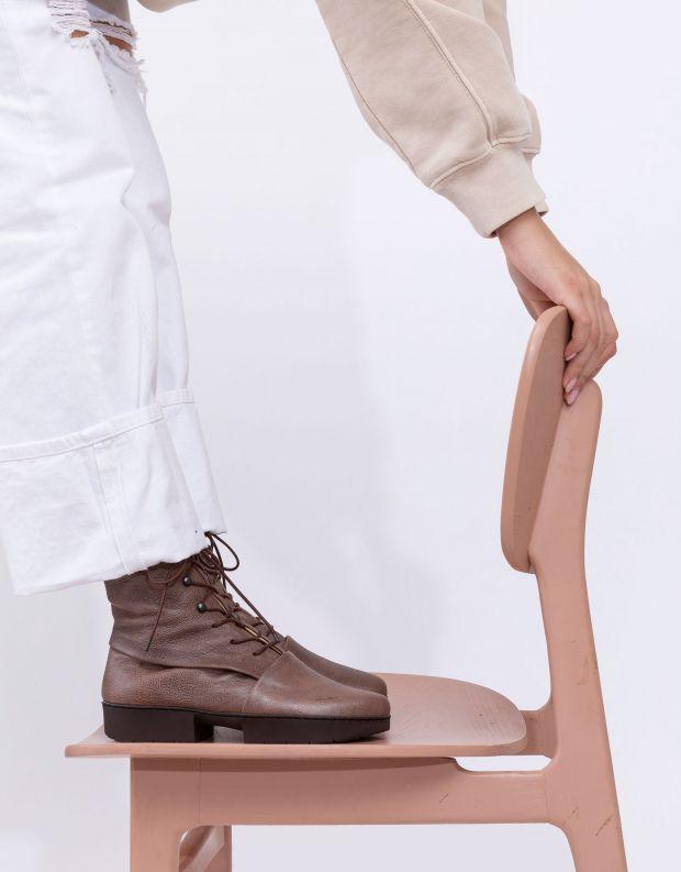 נעלי נשים - Trippen - מגפונים UMPIRE SPORT - חום