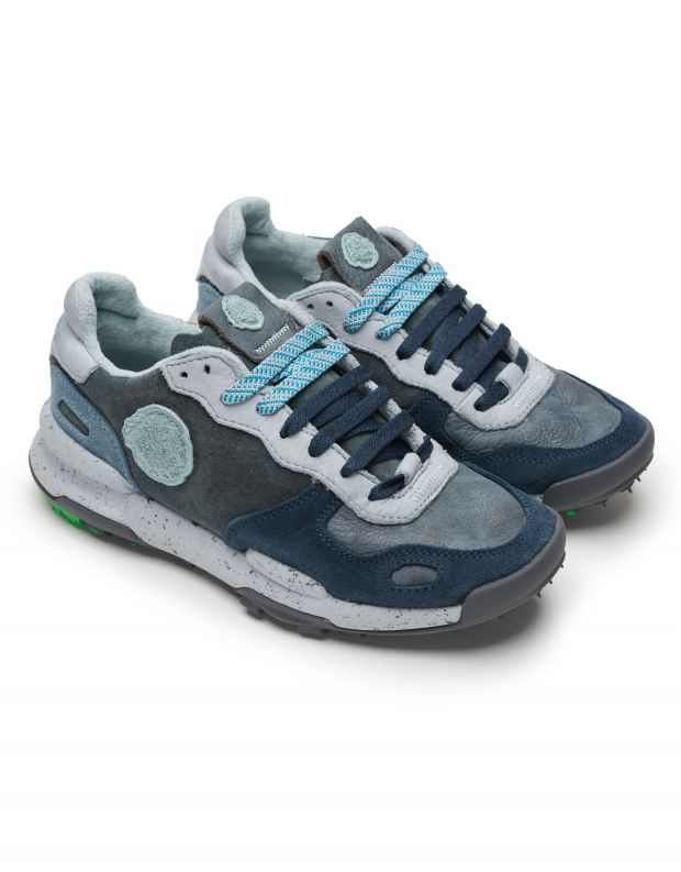 נעלי גברים - Satorisan - סניקרס עור CHACRONA - כחול