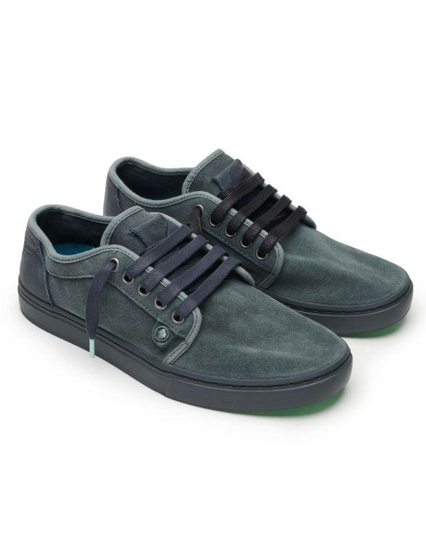 נעלי גברים - Satorisan - סניקרס זמש HEISEI - שחור