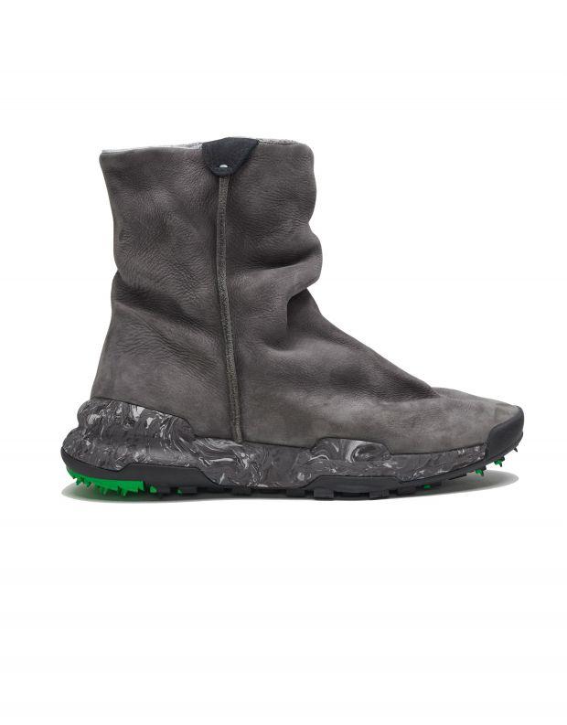 נעלי נשים - Satorisan - מגפוני עור MERAKI LEAF - אפור