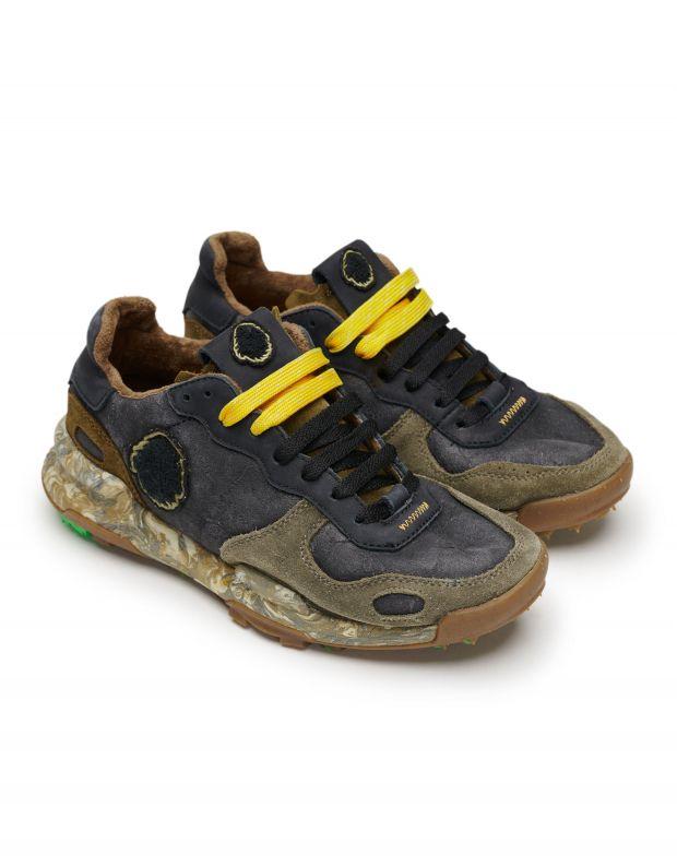 נעלי נשים - Satorisan - סניקרס עור CHACRONA - שחור